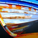 'RUSTY COBLE' - SOLD BY AUCTION FOR OVER £500 WITH ALL PROCEEDS GOING TO FILEY LIFEBOAT